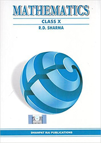 Mathematics for Class 10 Paperback 2017 by R.D. Sharma-Books-UBSPD-Helmetdon