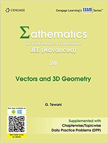 Mathematics for Joint Entrance Examination JEE (Advanced): Vectors & 3D Geometry-Books-TBHPD-Helmetdon