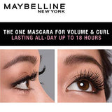 Maybelline New York Hypercurl Mascara Waterproof, Black, 9.2g-Beauty-Maybelline-Helmetdon
