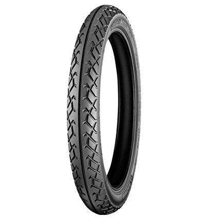 Michelin Sirac Street 3.25-19 54P Tube-Type Bike Tyre, Front-Automotive Parts and Accessories-Michelin-Helmetdon