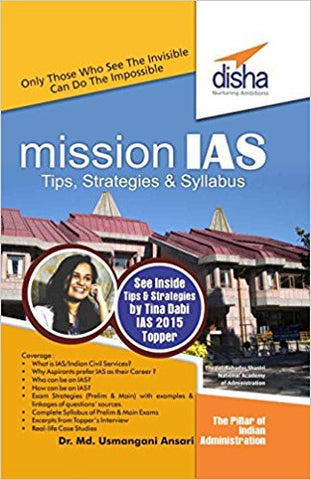 Mission IAS - Prelim/ Main Exam, Trends, How to prepare, Strategies, Tips & Detailed Syllabus-Books-TBHPD-Helmetdon