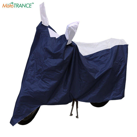 Mototrance Sporty Bike Body Cover For Honda Activa 3G,Blue-Mototrance-Helmetdon