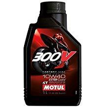 Motul 300V Factory Line Ester Core Fully Synthetic 10W-40 Petrol Engine Oil for Bikes (1 L)-Lubricant-Motul-1 L-Helmetdon