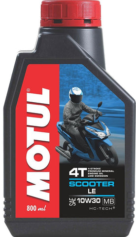 Motul Scooter LE 10W30 Engine Oil (800 ml)-Lubricant-Motul-800 ml-Helmetdon