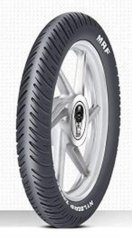 MRF Zapper-Y 100/90-18 56P Tubeless Bike Tyre, Rear-Automotive Parts and Accessories-MRF-Helmetdon