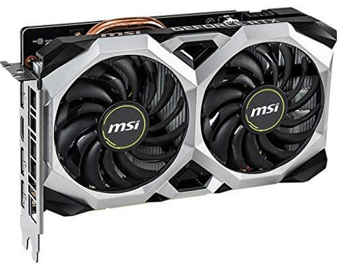 Image result for MSI GeForce RTX 2060 Ventus XS 6G OCV1 GDDR6 Gaming Graphic Card