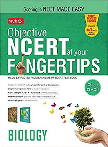 MTG Objective NCERT at Your Fingertips - Biology - Used Book-Book-MTG Books (MTG Learning Media Pvt. Ltd.)-Helmetdon