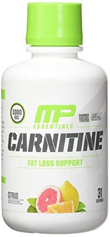 Muscle Pharm Carnitine Core Liquid Diet Supplement, Citrus, 30 Servings 16 oz 473ml-Health and Beauty-MusclePharm-Helmetdon