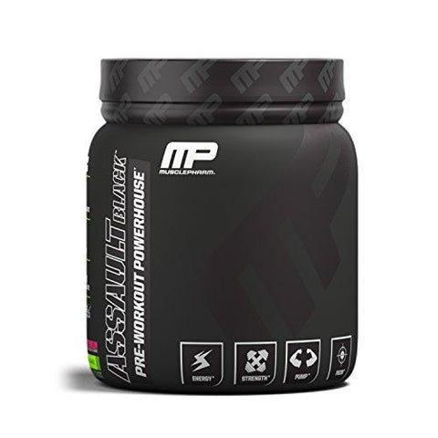MusclePharm Assault Watermelon Black Label-30 Servings-Health and Beauty-MusclePharm-Helmetdon