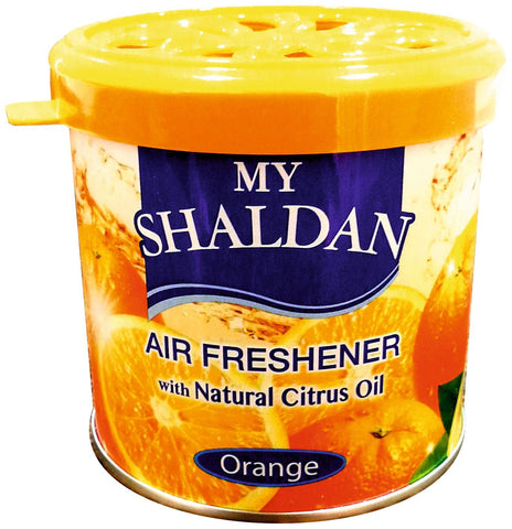My Shaldan Orange Car Air Freshener (80 g)-Car Perfume-My Shaldan-Helmetdon