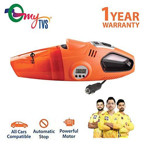 myTVS Digital 2 in 1 Car Vacuum Cleaner and car Tyre inflator-Automotive Parts and Accessories-myTVS-Helmetdon
