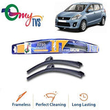 myTVS Frameless Wiper Blade for Maruti Ertiga All Year (21 x 14)-Automotive Parts and Accessories-myTVS-Helmetdon