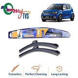 myTVS Frameless Wiper Blade for Maruti Ignis (20 X 16)-Automotive Parts and Accessories-myTVS-Helmetdon