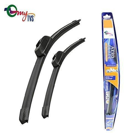 myTVS Frameless Wiper Blades for All Cars (All Sizes)-Auto Parts-myTVS-Helmetdon