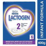 Nestle LACTOGEN 2 Follow-Up Formula Powder - After 6 months, Stage 2, 400g BIB Pack-Health and Beauty-Nestle-Helmetdon