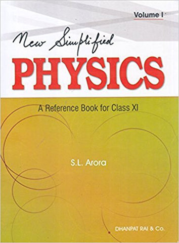 New Simlified Physics - A Reference Book for Class 11 (Volume I & II)-Books-TBHPD-Helmetdon