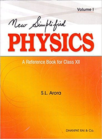 New Simplified Physics: A Reference Book - Class 12(Set of 2 Volumes)-Books-TBHPD-Helmetdon