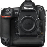 Nikon 1558 D5 20.8 MP FX-Format Digital SLR Camera Body (Black)-CE-Nikon-Helmetdon