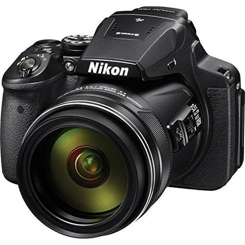 Nikon COOLPIX P900 16 MP Digital Camera with 83X Optical Zoom (Black)-CE-Nikon-Helmetdon