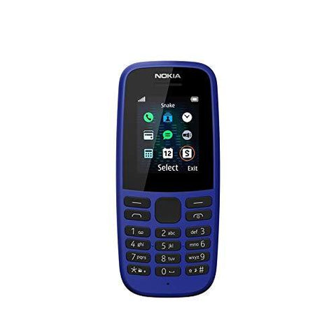 Nokia 105 2019 (Single SIM, Blue)-Wireless-Nokia-Helmetdon