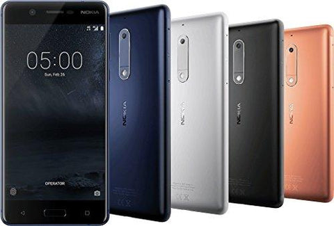 Nokia 5 3GB Ram 4G LTE Volte Ready 5.2 Inch Screen Tempered Blue Colour Mobile Phone (Special 3GB Edition)-NOKIA-Helmetdon