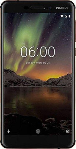 Nokia 6.1 Black / Copper-NOKIA-Helmetdon