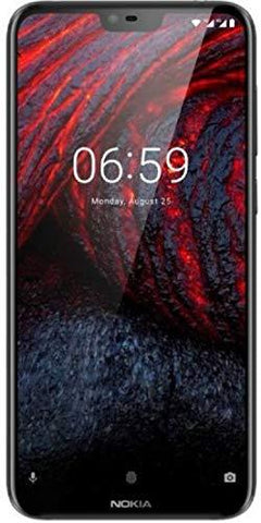 Nokia 6.1 Plus (Blue, 6GB RAM, 64GB Storage)-Wireless-Nokia-Helmetdon