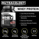 Nutracology Whey Protein Concentrate powder with Digestive enzymes chocolate flavour 1kg-Health and Beauty-Nutracology-Helmetdon