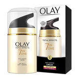 Olay Total Effects Day Cream 7 in 1 Normal SPF 15 (Up to 2x power for skin renewal), 50gm-Beauty-Olay-Helmetdon