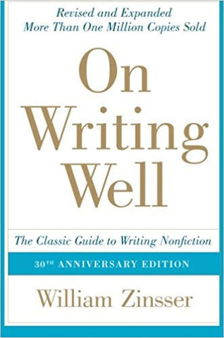 On Writing Wel: The Classic Guide to Writing Nonfiction (On Writing Well)-Books-TBHPD-Helmetdon