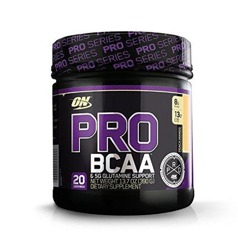 Optimum Nutrition Pro BCAA - 20 Servings (Peach Mango)-Health and Beauty-Optimum Nutrition-Helmetdon