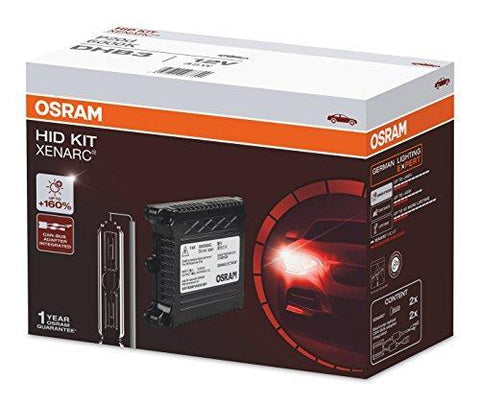 Osram DHB3 Xenon 6000K Eco HID Conversion Headlight Bulb Kit (12V, 35W)-Bulbs-Osram-Helmetdon