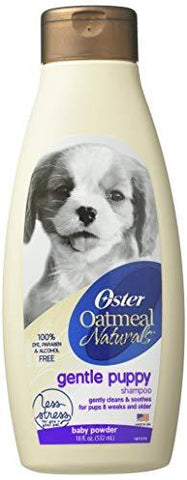 Oster Naturals Dog Shampoo with Oatmeal and Wholesome Ingredients, 18 Fl Oz-Pet Products-Oster-Helmetdon