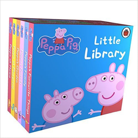 Peppa Pig: Little Library-Books-TBHPD-Helmetdon