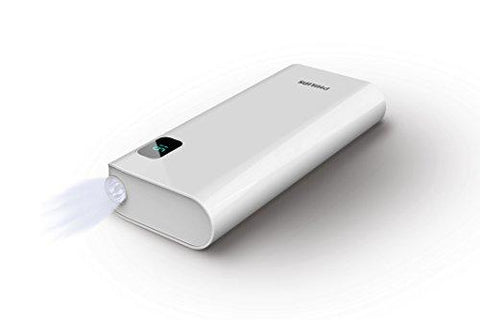 Philips DLP10016/97 10000mAH Lithium Ion Power Bank (White)-Wireless-Philips-Helmetdon