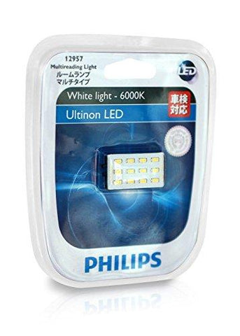Philips LED 12957 6000K Reading Light (12V, 1W)-Philips-Helmetdon