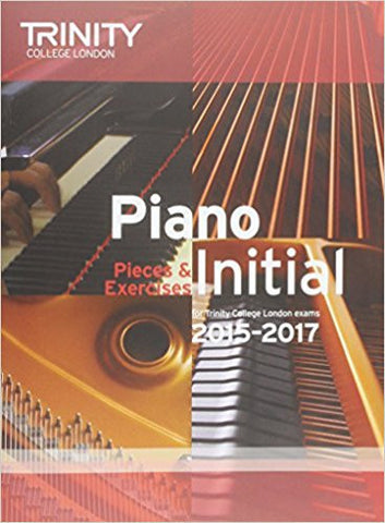 Piano Initial 2015-2017: Pieces & Exercises (Piano Exam Repertoire)-Books-TBHPD-Helmetdon