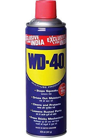 Pidilite WD-40 Multiple Maintainence Spray (420ml, 341g, FGMFSM0434200000)-Industrial-Pidilite-Helmetdon