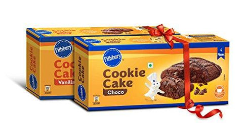 Pillsbury Chocolate and Vanilla Combo Pack- 6N x 23g (Pack of 2)-Grocery-Pillsbury-Helmetdon