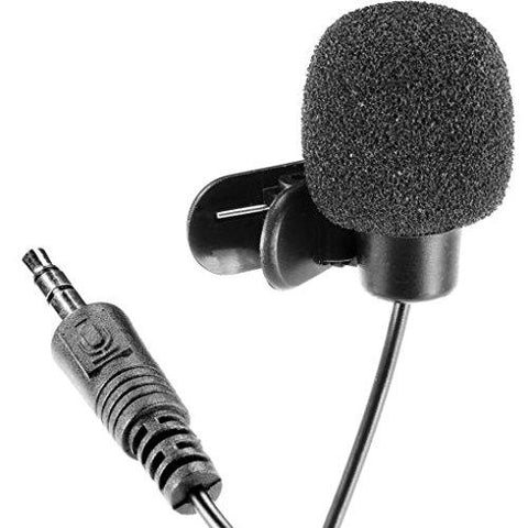 Piqancy Best collar mic for YouTube video recording Voice Calling 2 m  Cable, 3 5mm Standard Jack for Computer Laptop PC