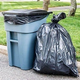 Plasticplace Trash Bags, 65 Gallon, 50 Bags, Black-Lawn & Patio-Plasticplace-Helmetdon