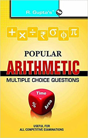 Popular Arithmetic Multiple Choice Questions-Books-TBHPD-Helmetdon
