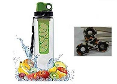 Premsons PS8369 Plastic Infuser Bottle, 850ml (Multicolour)-Sports-Premsons-Helmetdon