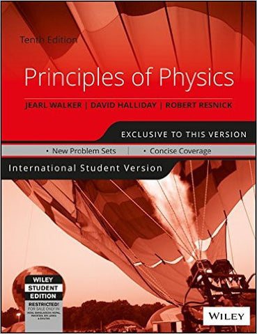Principles of Physics, 10ed, ISV-Books-TBHPD-Helmetdon