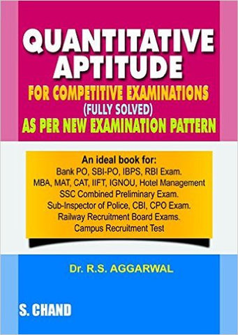 Quantitative Aptitude for Competitive Examinations (Old Edition)-Books-UBSPD-Helmetdon