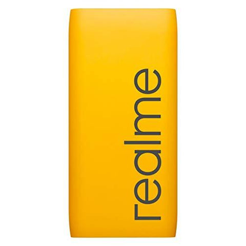 Realme 10000mAH Power Bank (Yellow)-Wireless Accessory-realme-Helmetdon