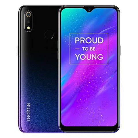 Realme 3 (Dynamic Black, 3GB RAM, 64GB Storage)-Wireless-realme-Helmetdon
