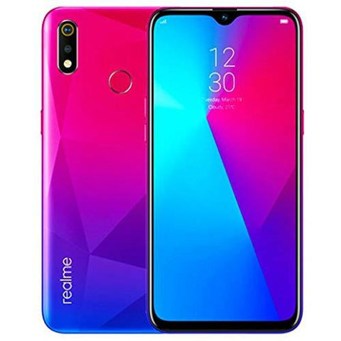 Realme 3i (Diamond Red, 4GB RAM 64GB ROM)-Wireless-realme-Helmetdon