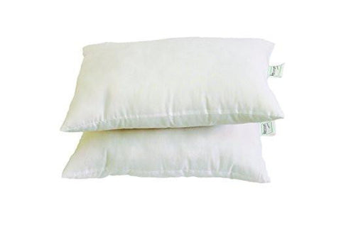 Recron Fiber Dream Pillow - 40 x 60 cm, White, 2 Piece-Home & Kitchen-Recron-Helmetdon