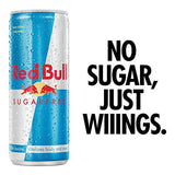 Red Bull Energy Drink Sugar Free, 250ml-Grocery-Red Bull-Helmetdon